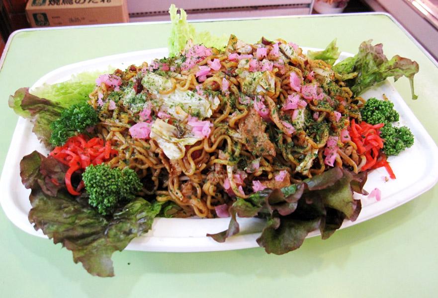 志木市食肉組合:ハタザクラカッピー焼そば
