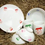 カッピーお皿、ボール、茶碗