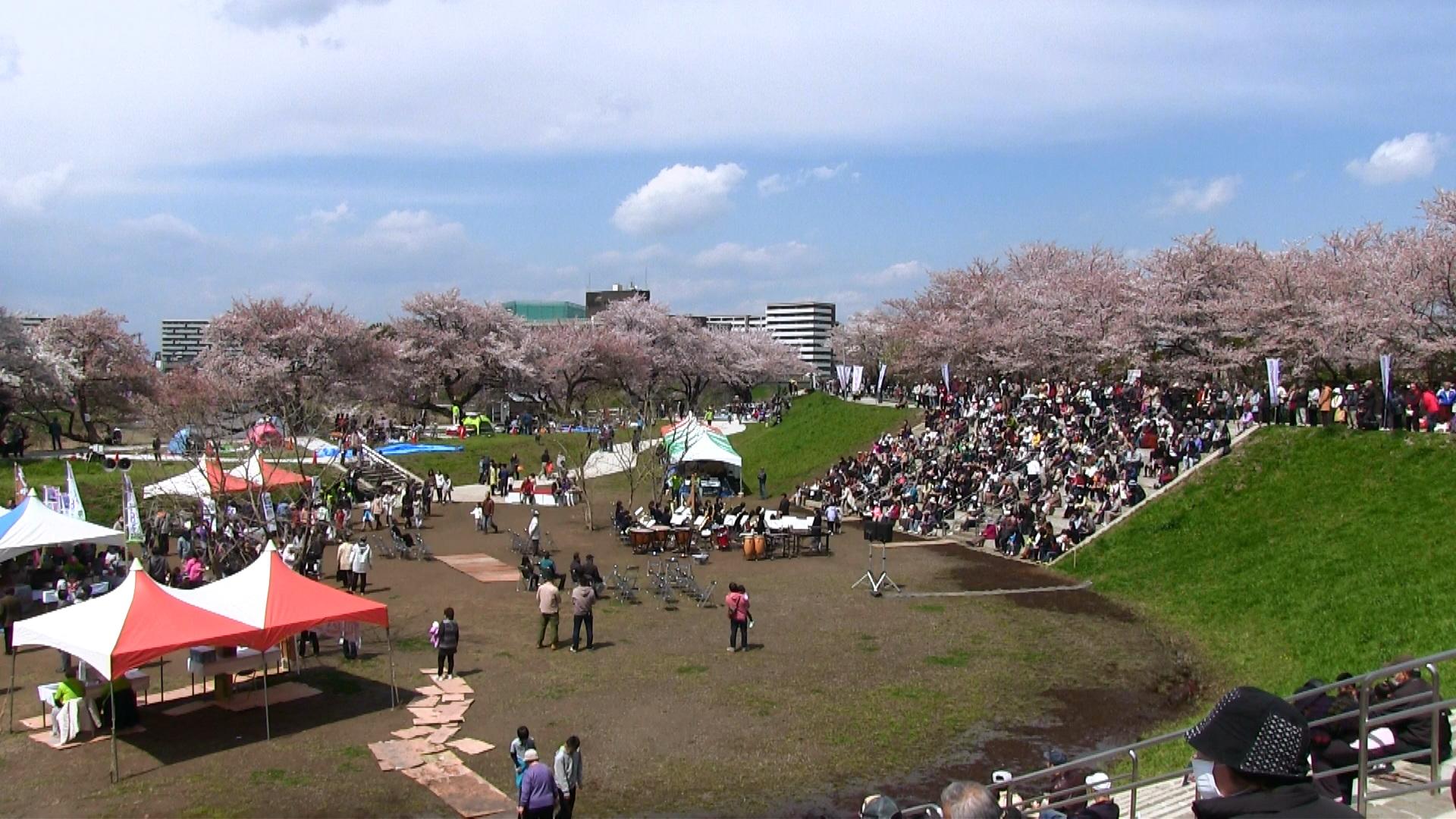 2014年4月 春のいろは親水公園まつりのイメージ